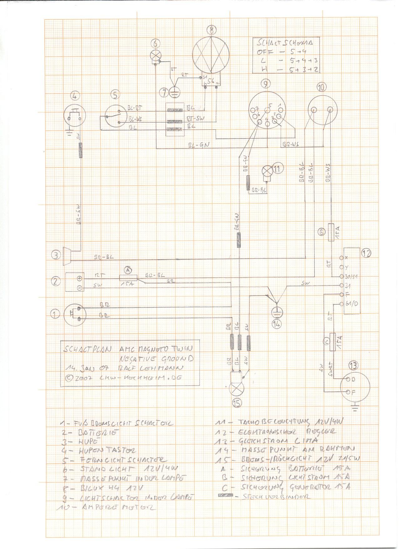 Atemberaubend Magneto Schaltplan Fotos - Schaltplan Serie Circuit ...